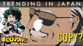 Stan Lee's Anime is a 'My Hero Academia' Clone?