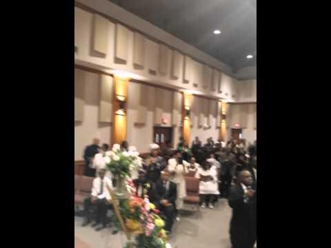 Dawson Family singing at Mo Ange Green's funeral