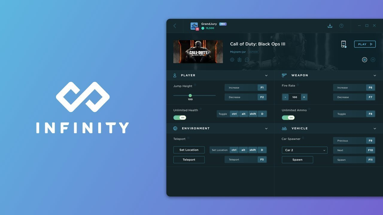 Infinity Game App