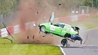 NÜRBURGRING CRASH COMPILATION - NORDSCHLEIFE CRASHES \u0026 FAIL COMPILATION - 24H \u0026 VLN