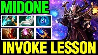 Invoke Lessons With Midone Boss - invoker - Dota 2