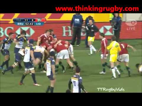 British & Irish Lions 2013 Tour: Brumbies vs Lions