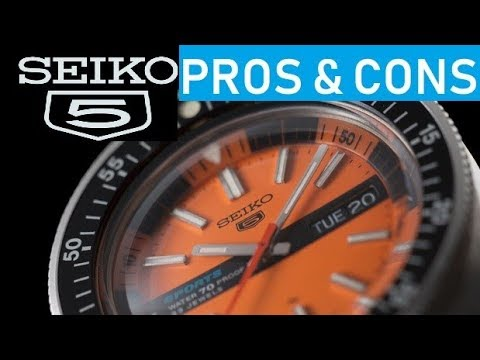 Seiko 5 Pros & Cons and which is the BEST model to choose as your first