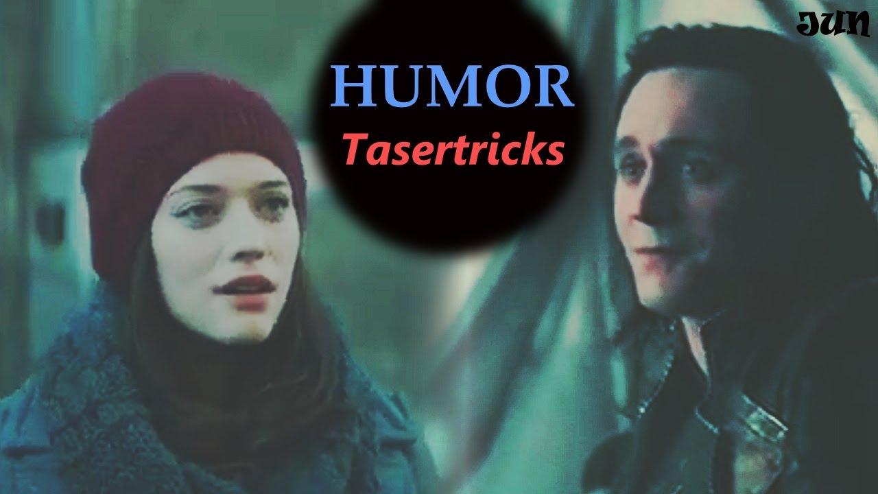 Darcy Lewis x Loki | Tasertricks Humor AU engsub