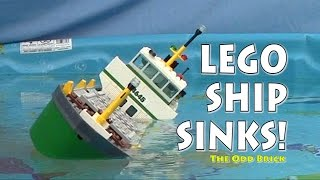 LEGO Cargo Ship Sinks!