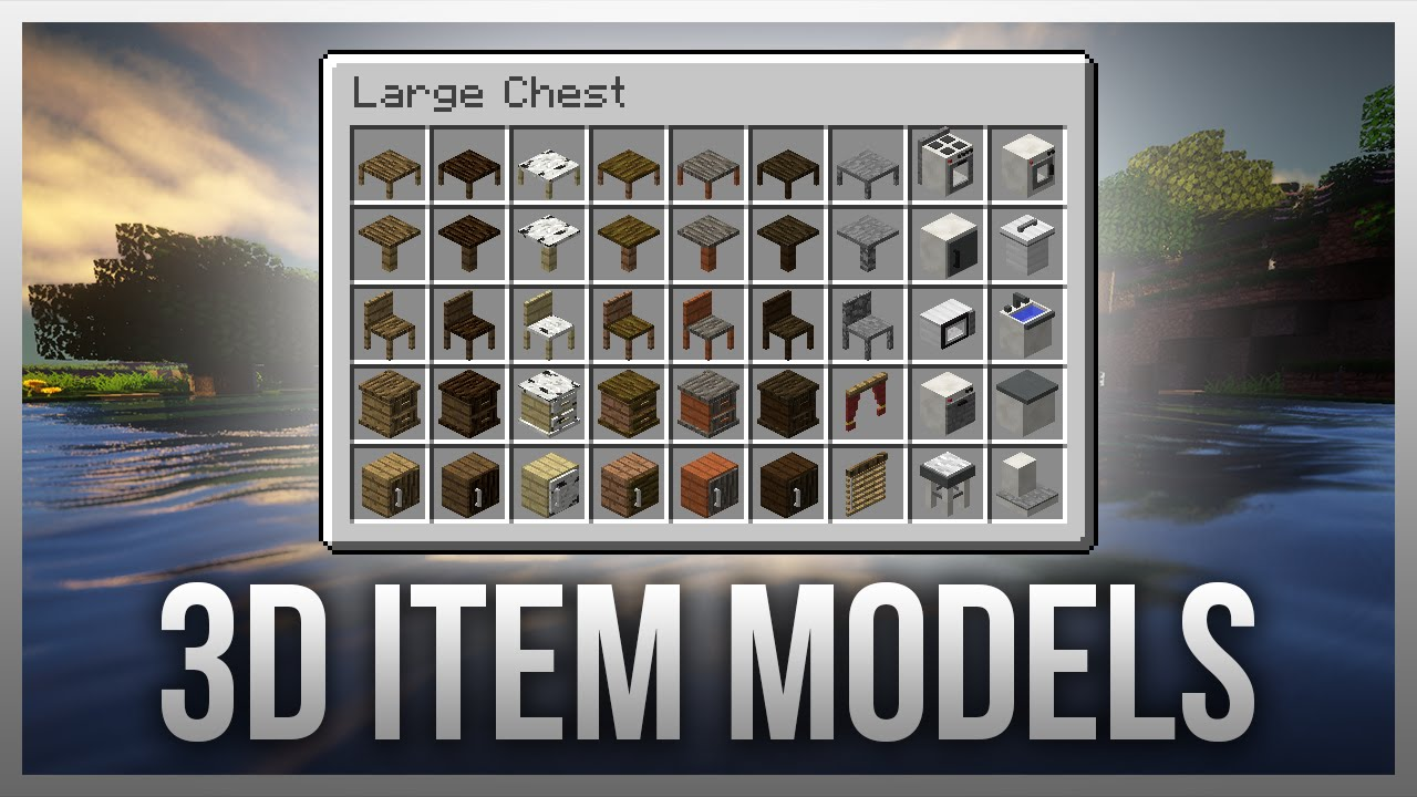 how to add mrcrayfish furniture mod to minecraft