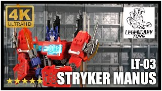 Legendary Toys LT-03 Maketoys Cross Dimensions MTCD01 Stryker Manus