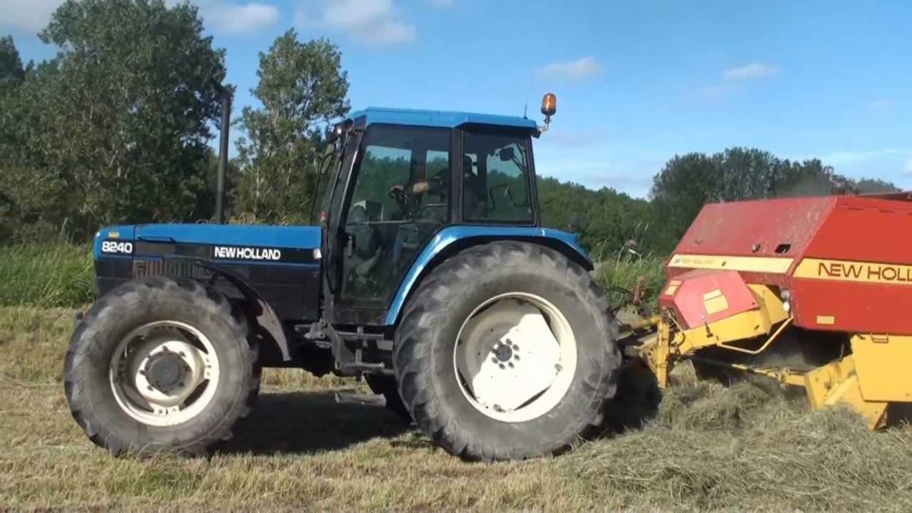 New Holland Ford >> New Holland Ford 8240 Balenpersen