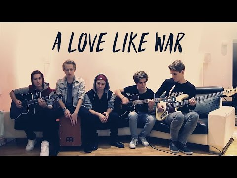 All Time Low - A Love Like War (Cover by Beside the Bridge)