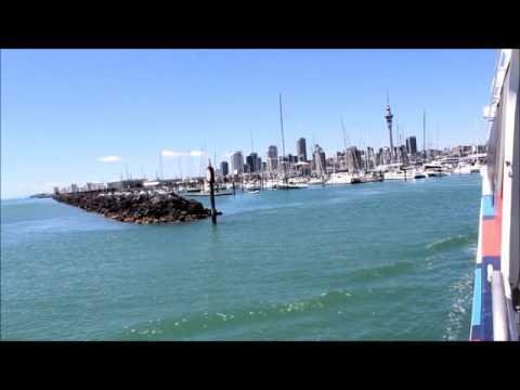 Auckland harbour cruise 2015