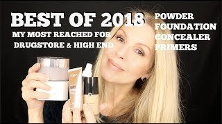Most Reached For Foundation | Powders | Primers 2018