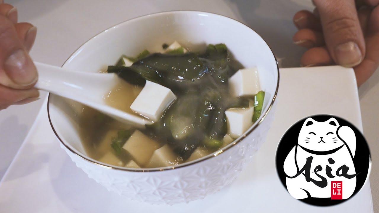 Przepis na Miso-shiru - gotowanie z Asia Deli