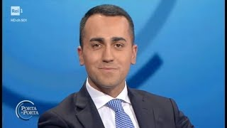 Luigi Di Maio a Porta a Porta (INTEGRALE) 9/1/2018