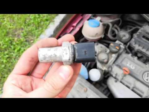 Замена датчика давления кондиционера Polo Sedan