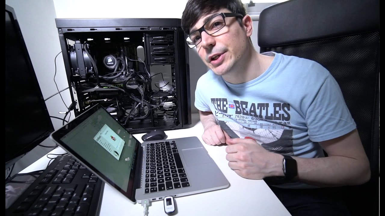 I'm building a Hackintosh!!! #3 (Mac OS X installation) Unibeast Multibeast