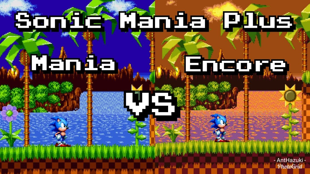 Sonic Mania Levels