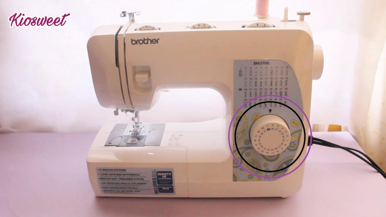 ¿Cómo usar una maquina de coser? - YouTube