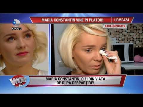 WOWBIZ (17.10.2017) - Maria Constantin, confesiuni dupa divort! Partea I