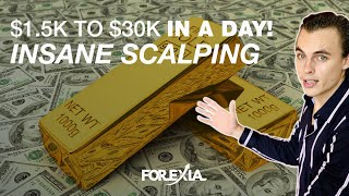 Gambar cover $500+ in 1 min Trading Forex Live - $1,500 to $30,000 in 1 Day!
