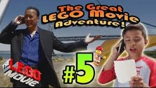 The GREAT LEGO MOVIE ADVENTURE! Episode 5 - SAN FRANCISCO II