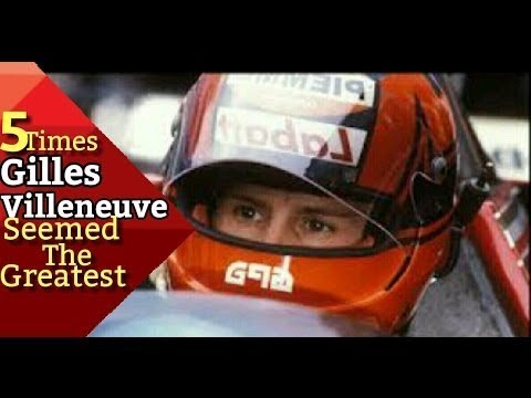 5 Times Gilles Villeneuve Seemed The Greatest