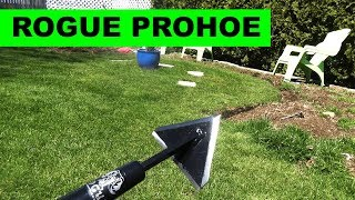 Rogue Hoes - the best garden hoe you'll find - makes weeding super easy