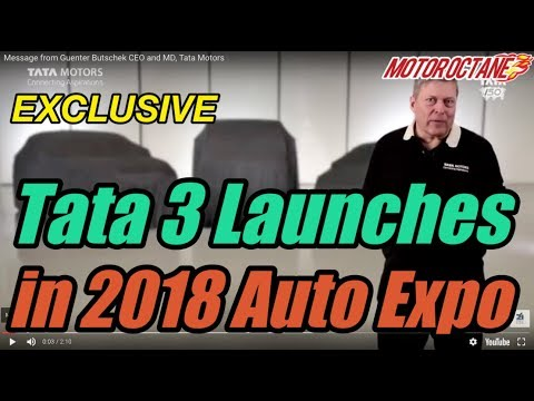 EXCLUSIVE: Tata 3 launches in 2018 Auto Expo in Hindi | MotorOctane