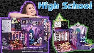Обзор на High School Monster High (Школа Школы Монстров) X3711