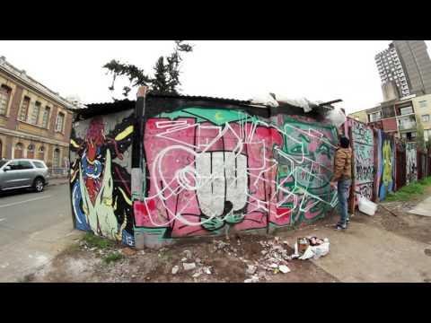 Aset in Santiago Graffiti