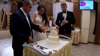 Путин лично подравляет молодоженов на свадьбе