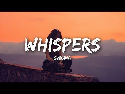 SVRCINA - Whispers (Lyrics / Lyrics Video)