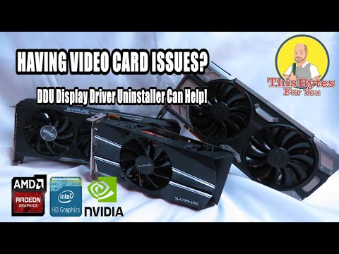 How to remove old graphics drivers?