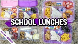 Lunch Box Ideas 💡 School Lunch Ideas for PICKY EATERS