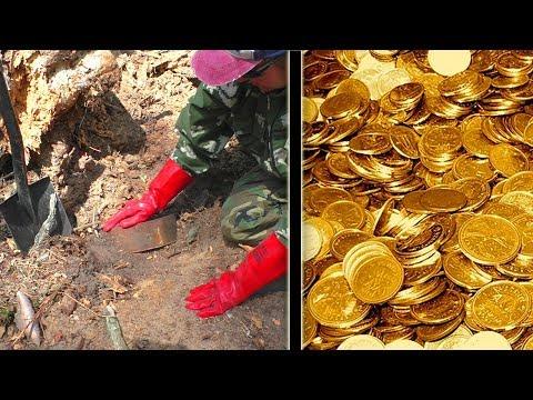 КЛАД ЗОЛОТА В БАНКЕ ПОД ЗАВЯЗКУ!   TREASURE GOLD FULL BANK!