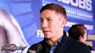 Gennady Golovkin reacts to Canelo vs. Chavez Jr. ; Feels Jacobs boxing IQ in different class