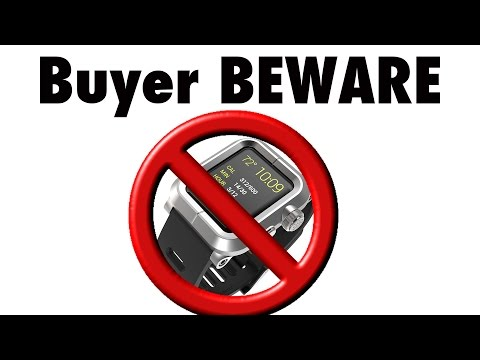 outlet store e6a38 020b6 Lunatik Epik for Apple Watch... BEWARE - YouTube
