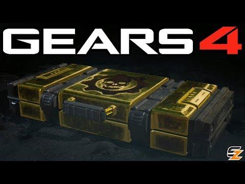 Gears of War 4 Gear Packs - Opening 40 GOLDEN GEAR PACKS!