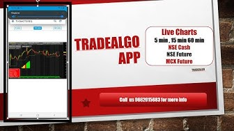 Tradealgo Multi Time Frame Live Charts