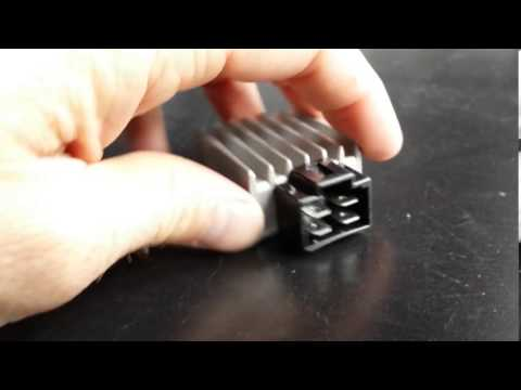 Gy6 Wiring Harness Diagram Kubota Generator Scooter Rectifier Regulator Youtube