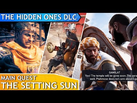 AC Origins The Hidden Ones DLC - The Setting Sun (main quest)