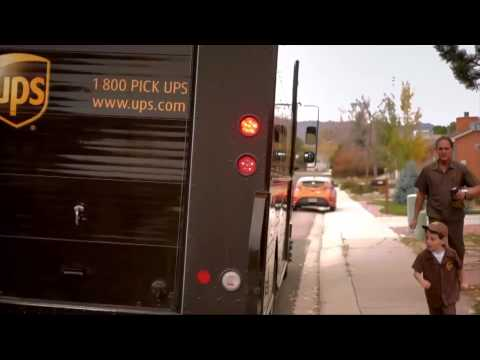 UPS Gives Little Boy Kid-Sized Delivery Truck in Adorable Ad