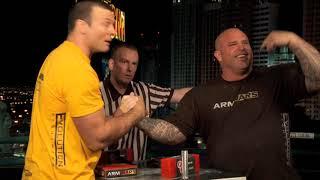 Arm Wars | Armwrestling | Devon Larratt CAN v Don Underwood USA