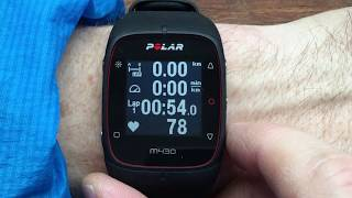 Polar M430 Interface