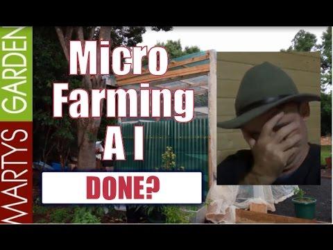 Micro Farming in Australia am I Done?