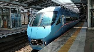 小田急60000形MSE 60052F+60254F 本厚木駅発車