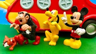 Myszka Miki i Gargamel  Klakier, to nasza szansa  Bajka dla dzieci PO POLSKU