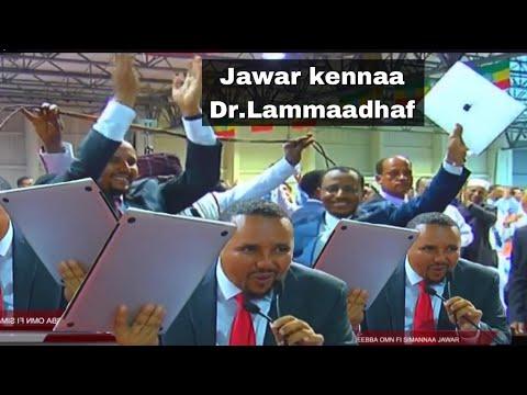 Jawar Mohammed welcomed Dr.Lammaa magarsaa Sirba Eebba OMN fi simannaa keessummootaa irratti G/B thumbnail