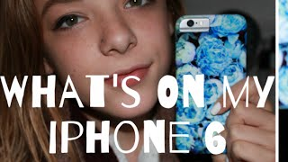 What's On My iPhone 6 + How I Edit My Instagram Photos ♡