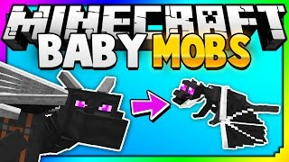Repeat youtube video Minecraft: The Baby Mobs You've Never Seen Before