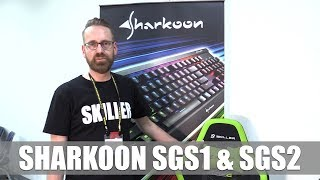 Sharkoon SGS1 & SGS2 Gaming-Stühle First Look (German) # Computex2017